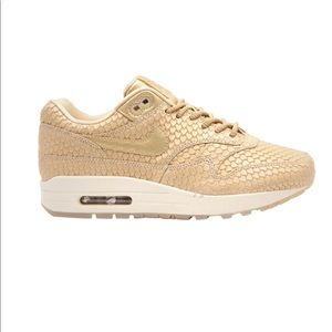 "Nike Shoes - Nike Air Max Premium  ""Gold Fish"""